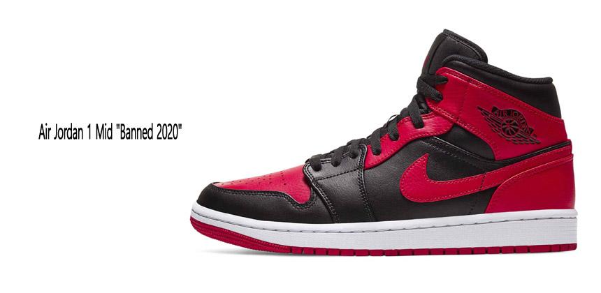 Air Jordan 1 Mid Banned 2020